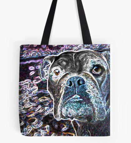 Art Dog Tote Bag