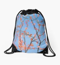 Judas Tree Drawstring Bag