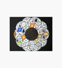Crypto World Art Board