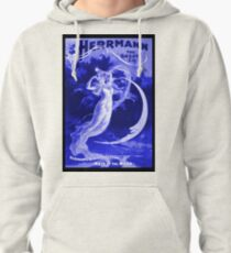 Vintage Magician Poster Pullover Hoodie