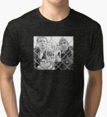 The Office Straight Outta Scranton Tri-blend T-Shirt