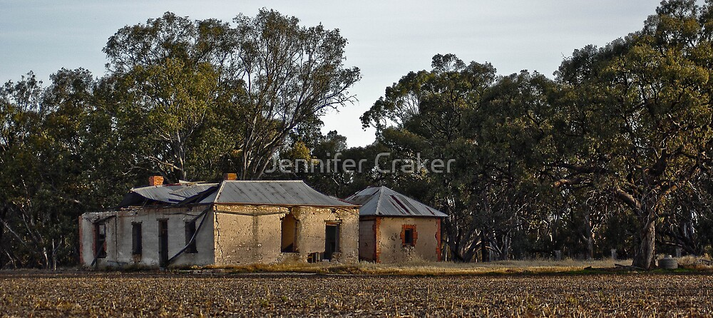 Deserted Homestead V02 - Dimboola by Jennifer Craker