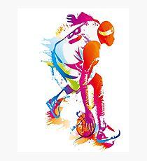 Spalding Slam Dunk 2k18 BasketBall Photographic Print
