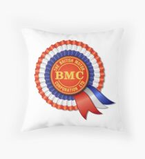 British Motor Corporation (BMC) Rosette Throw Pillow