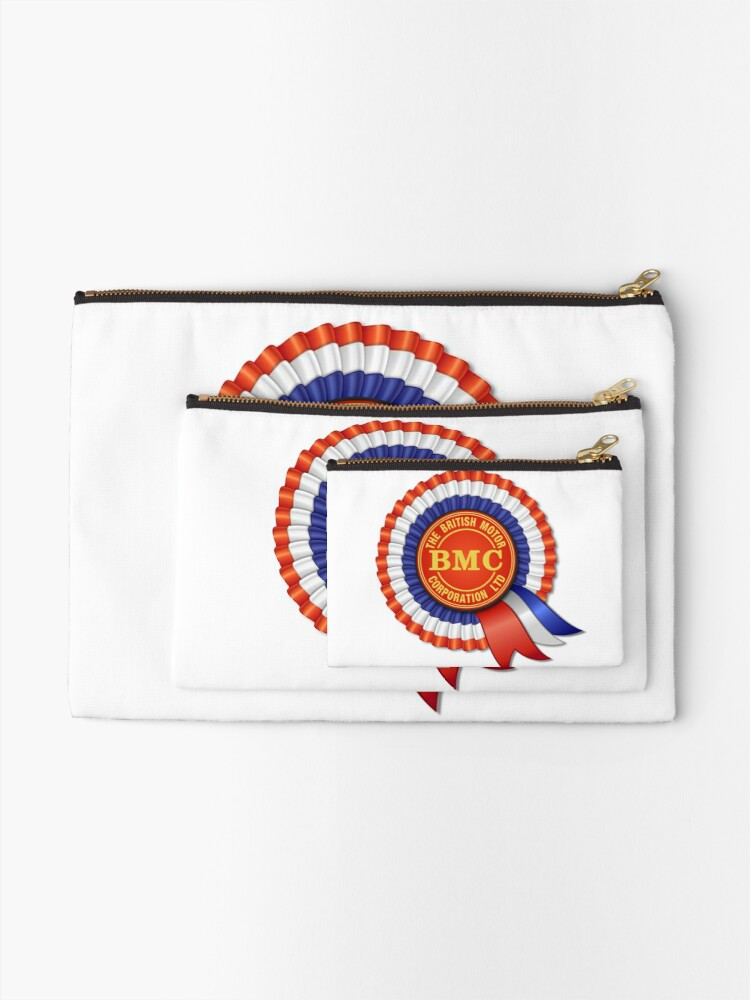Alternate view of British Motor Corporation (BMC) Rosette Zipper Pouch