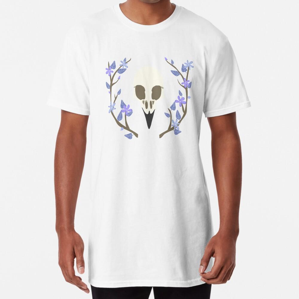 Bird Skull Long T-Shirt