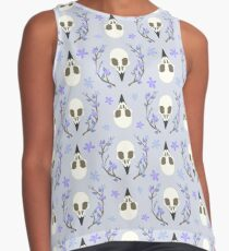 Bird Skull Sleeveless Top