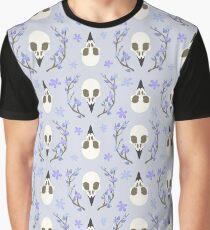Bird Skull Graphic T-Shirt