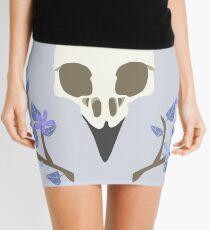 Bird Skull Mini Skirt