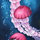 Jellyfishes by John Wallie