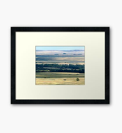 Faces of the Prairies Framed Print