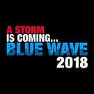 2018 Election Blue Wave Democrat by fishbiscuit
