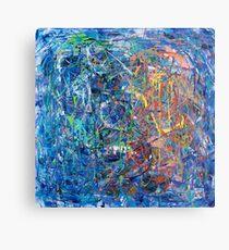 Blue Sprinkles Metal Print