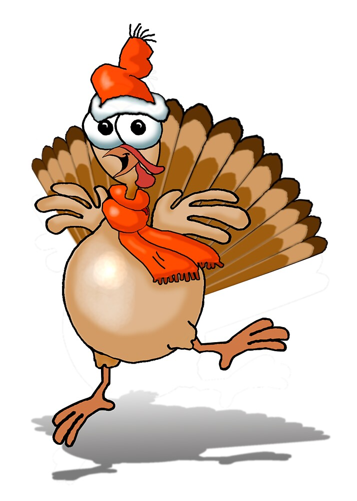 SURVIVING turkey New Year by graphicdoodles