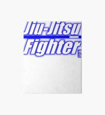BJJ Blue Belt Jiu Jitsu Fighter Art Board