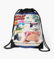 """Horus Hippo in """"Shop 'Till You Drop"""" Drawstring Bag"""