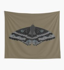 Moth Magick Wall Tapestry