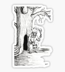 Spectre of Ill Fate Sticker