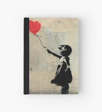 Banksy Red Heart Balloon Hardcover Journal