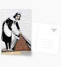 Postales Banksy Maid