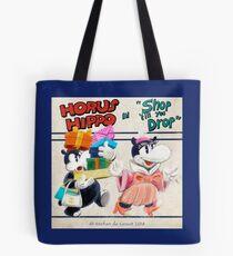 "Horus Hippo in ""Shop 'Till You Drop"" Tote Bag"