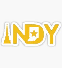 Indianapolis Geotag Sticker