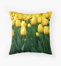 Tulips Throw Pillow