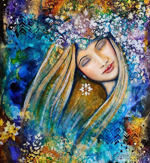 Fragrant Dreams by JaanemanArt