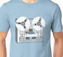 Reel Vintage Tape Deck Unisex T-Shirt