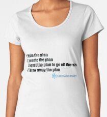 Der ultimative Plan Frauen Premium T-Shirts