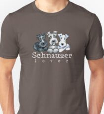 Camiseta unisex Schnauzer Lover 2015