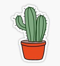 Lonely Cacti or Cactus Plant Sticker