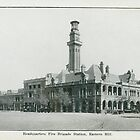 Headquarters Fire Brigade Station - circa 1920's by Stuart Blythe