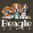 Beagle Lover by offleashart