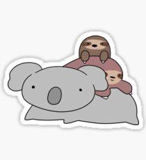 Koala and Sloths Sticker
