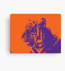 Clemson Leinwand Tiger Leinwanddruck