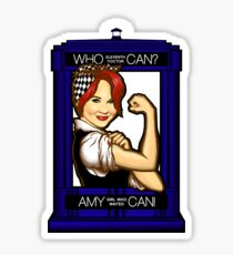 Amy Can! Sticker