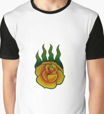Game of Thrones Wildfire Rose Graphic T-Shirt