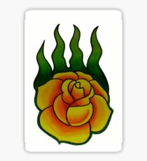 Game of Thrones Wildfire Rose Sticker