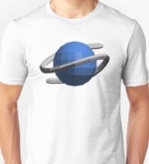 Sega Saturn Low-Poly Unisex T-Shirt