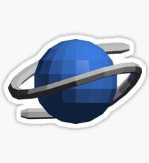 Sega Saturn Low-Poly Sticker