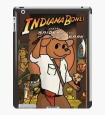 Indiana Bones and the Raiders of the Lost Bark iPad Case/Skin