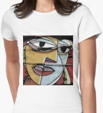 Picasso Pillow Women's Fitted T-Shirt