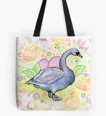 Mr. Swan the Gardener Tote Bag