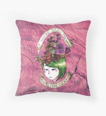 The Growing Mind of a Dreamer Throw Pillow