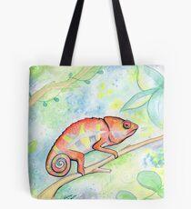 Cutie Chameleon Tote Bag