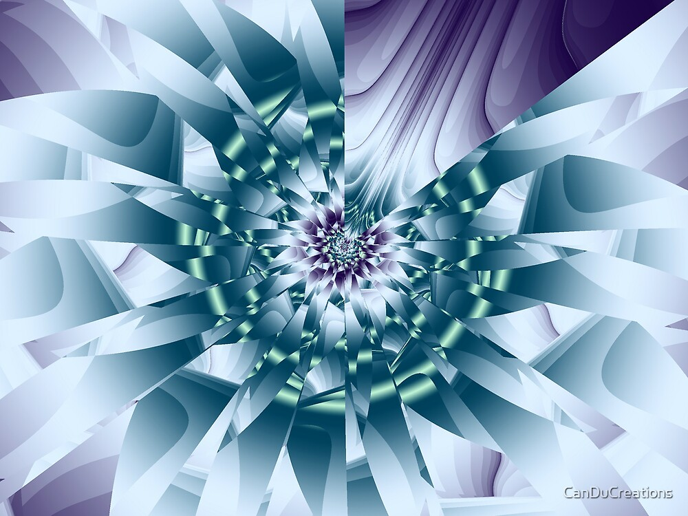 The blue flower by CanDuCreations