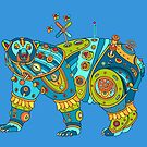 Polar Bear, cool art from the AlphaPod Collection by alphapod