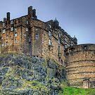Edinburgh Castle by Colin  Williams Photography