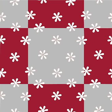 Alabama Floral Squares Gameday Dress by CollegeTown